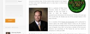 Consumer Rights Attorney Web Design